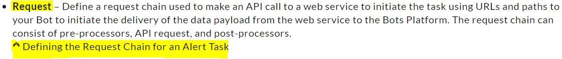 Request API